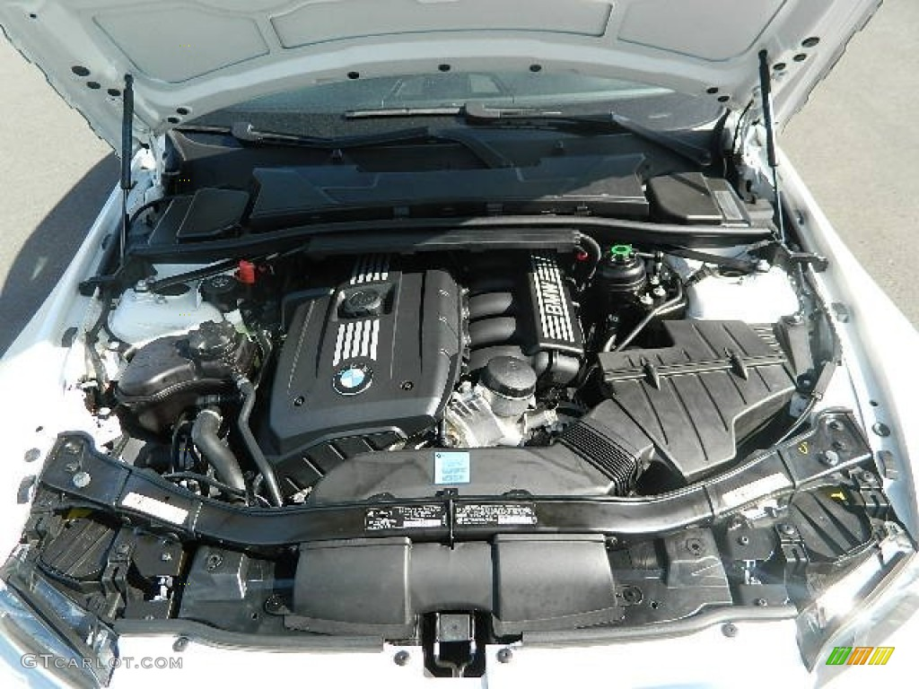 2009 bmw 3 series 328i convertible 3 0 liter dohc 24 valve vvt inline 6 cylinder engine photo. Black Bedroom Furniture Sets. Home Design Ideas