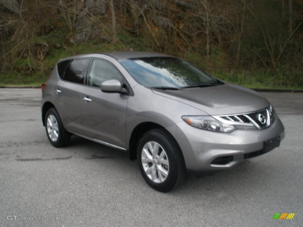 2011 Murano S - Platinum Graphite / Black photo #1