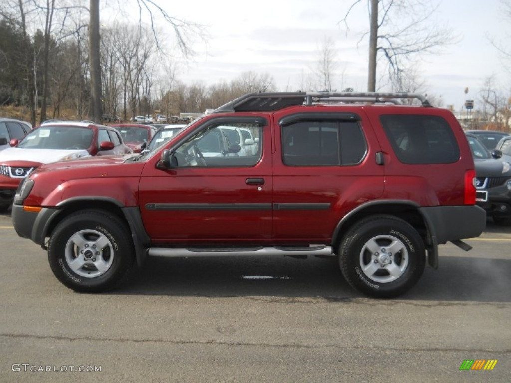 thermal red metallic 2004 nissan xterra se 4x4 exterior. Black Bedroom Furniture Sets. Home Design Ideas