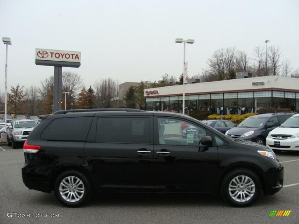 2012 Black Toyota Sienna Xle 61646302 Gtcarlot Com