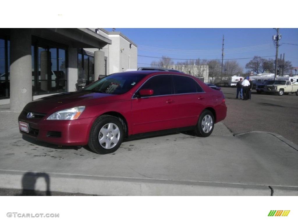 2007 moroccan red pearl honda accord se v6 sedan 61646276 car color galleries. Black Bedroom Furniture Sets. Home Design Ideas