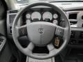 Medium Slate Gray Steering Wheel Photo for 2007 Dodge Ram 3500 #61696421