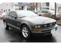2007 Alloy Metallic Ford Mustang V6 Deluxe Coupe  photo #17