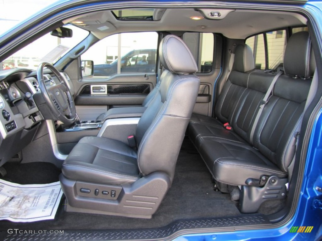 Black Interior 2010 Ford F150 Fx4 Supercab 4x4 Photo