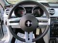 Charcoal Black/Dove Steering Wheel Photo for 2008 Ford Mustang #61719009