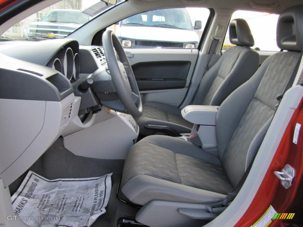 Pastel Slate Gray Interior 2007 Dodge Caliber Sxt Photo 61721307