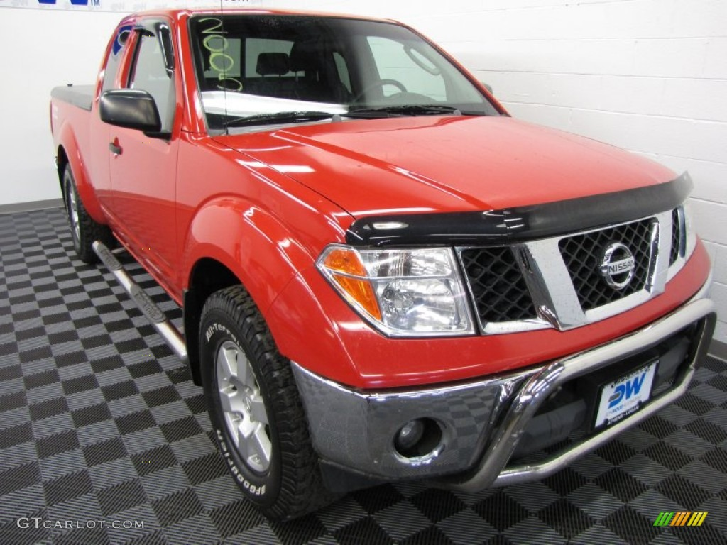 2005 aztec red nissan frontier nismo king cab 4x4. Black Bedroom Furniture Sets. Home Design Ideas