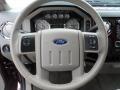 Medium Stone Steering Wheel Photo for 2010 Ford F350 Super Duty #61747733