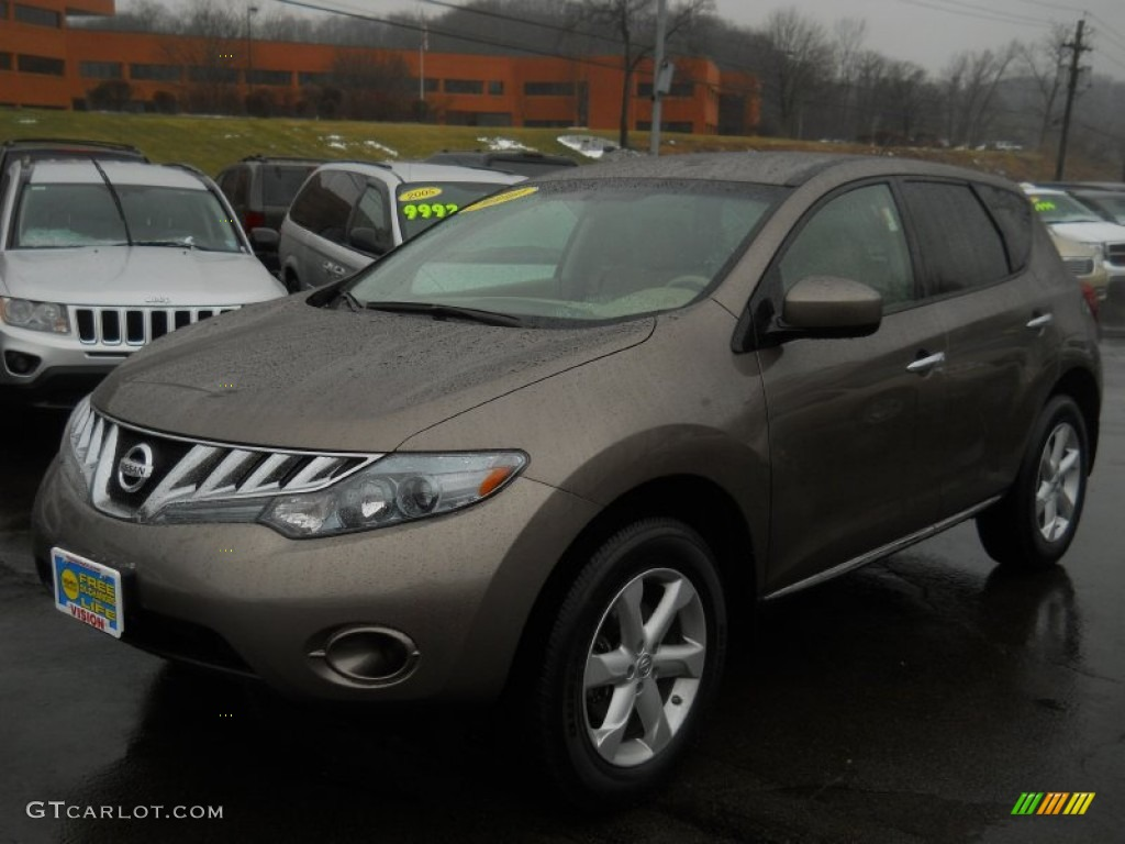 2010 Murano S AWD - Tinted Bronze Metallic / Beige photo #1