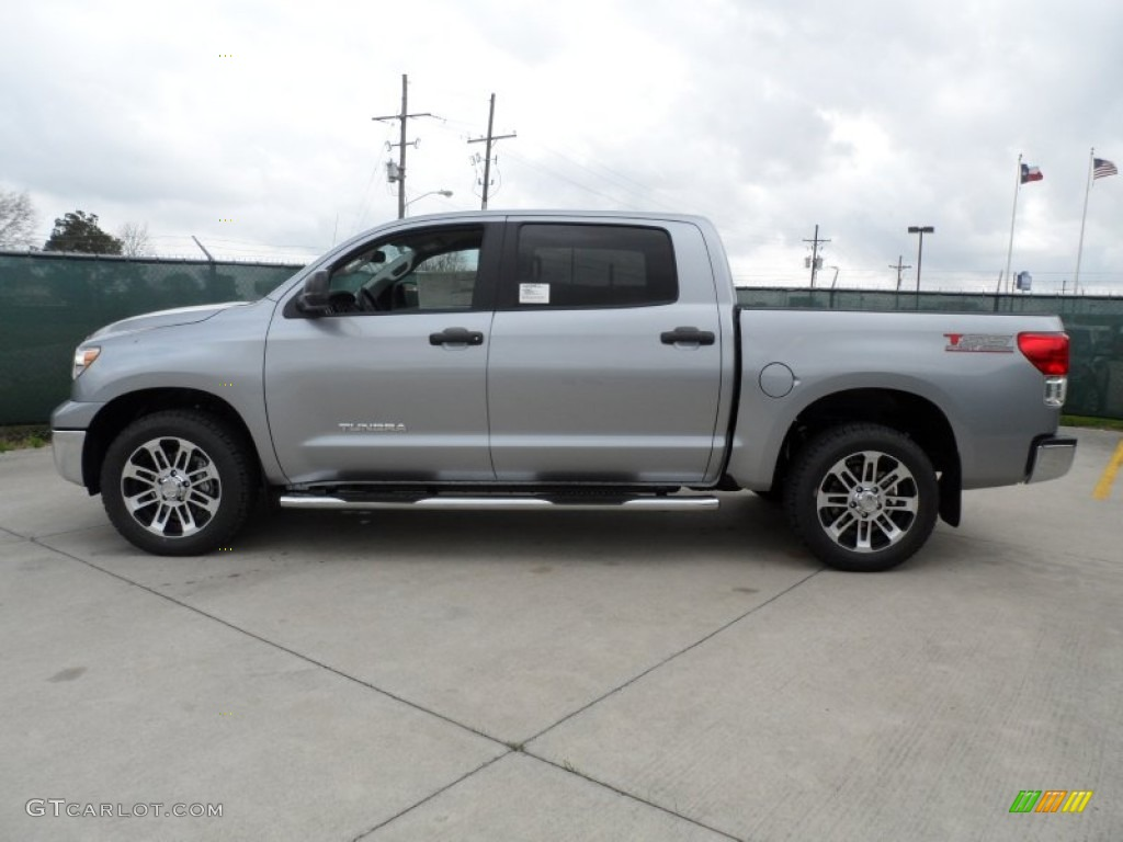 silver sky metallic 2012 toyota tundra tss crewmax exterior photo 61750768. Black Bedroom Furniture Sets. Home Design Ideas