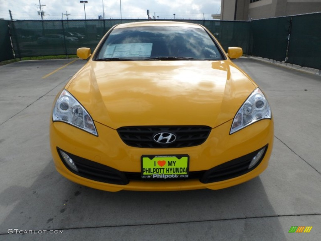 2012 interlagos yellow hyundai genesis coupe 3 8 r spec 61702074 photo 8 car. Black Bedroom Furniture Sets. Home Design Ideas