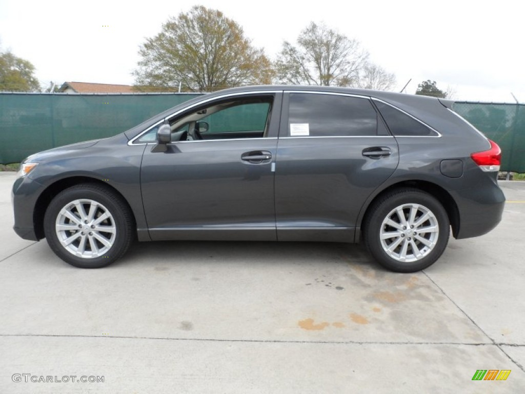 Magnetic Gray Metallic 2012 Toyota Venza LE Exterior Photo ...