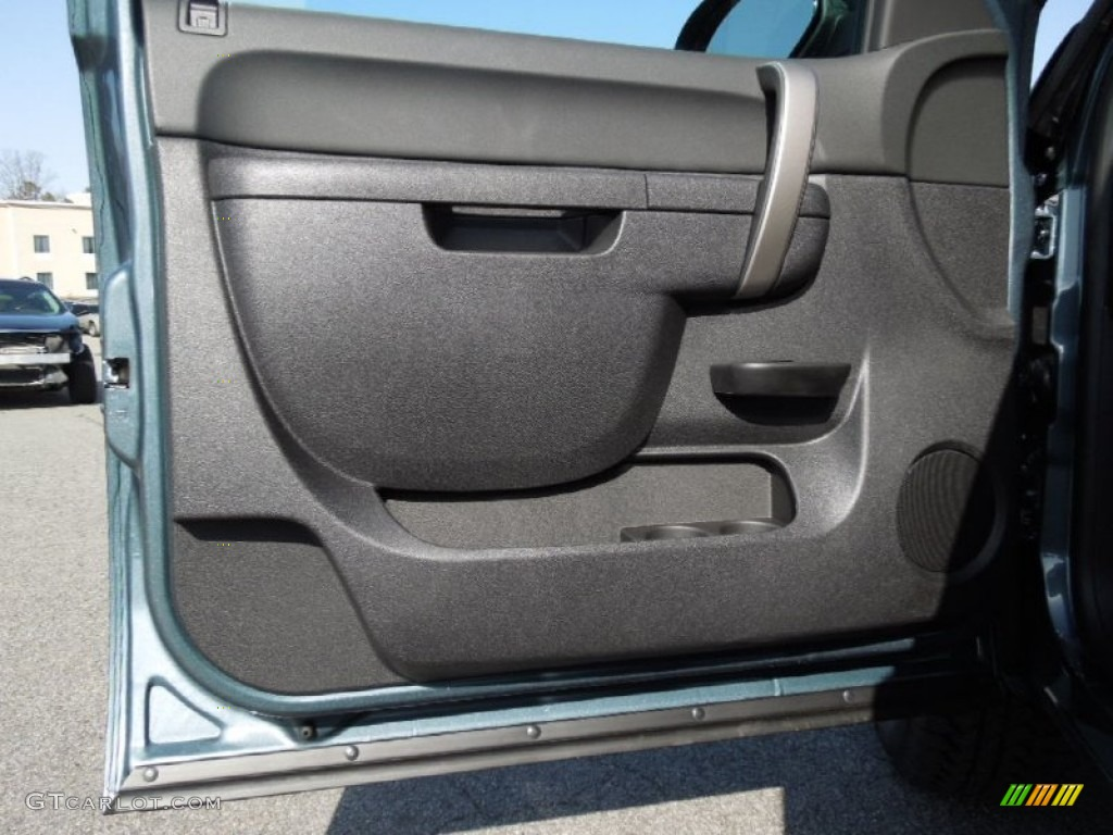 2012 Silverado 1500 LT Crew Cab 4x4 - Blue Granite Metallic / Ebony photo #8