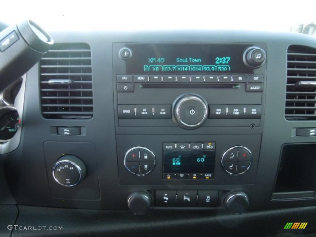 2012 Silverado 1500 LT Crew Cab 4x4 - Blue Granite Metallic / Ebony photo #10