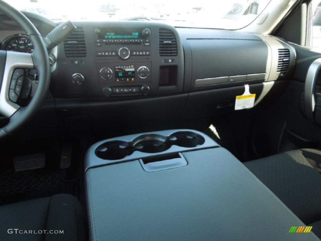2012 Silverado 1500 LT Crew Cab 4x4 - Blue Granite Metallic / Ebony photo #15