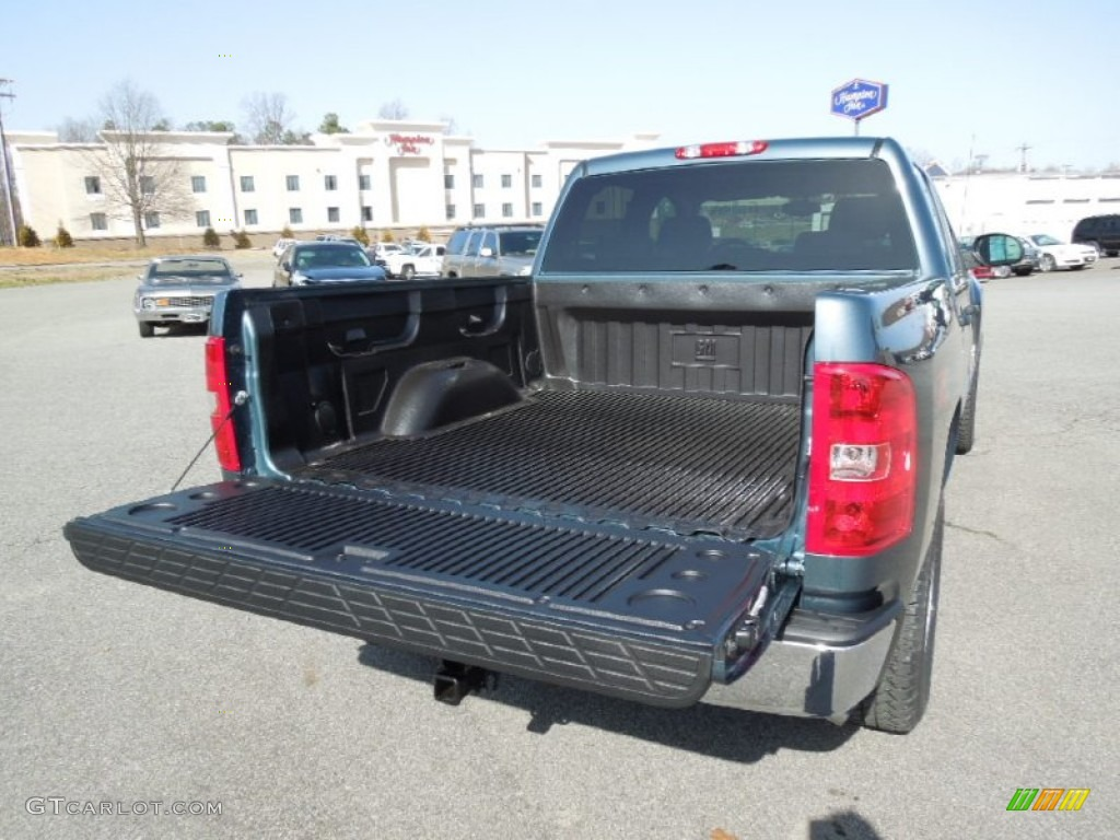 2012 Silverado 1500 LT Crew Cab 4x4 - Blue Granite Metallic / Ebony photo #16