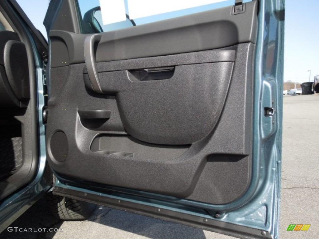 2012 Silverado 1500 LT Crew Cab 4x4 - Blue Granite Metallic / Ebony photo #20