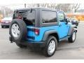 2011 Cosmos Blue Jeep Wrangler Sport S 4x4  photo #5