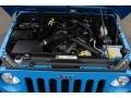 2011 Cosmos Blue Jeep Wrangler Sport S 4x4  photo #27