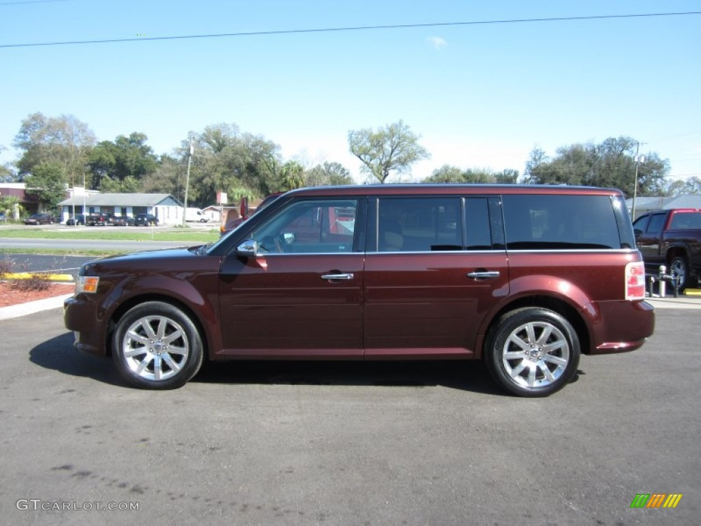 Cinnamon Metallic 2009 Ford Flex Limited Exterior Photo ...