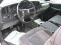 2002 Light Pewter Metallic Chevrolet Silverado 1500 LS Extended Cab 4x4  photo #7