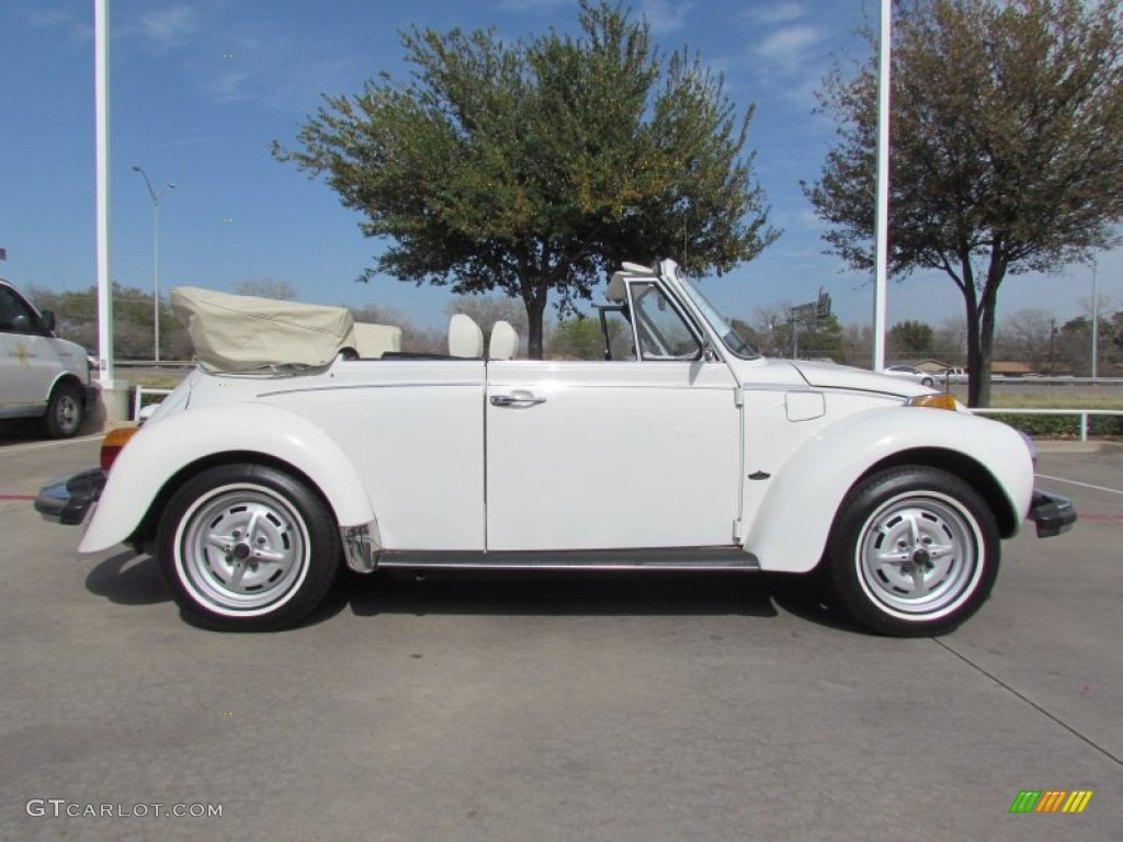 White 1979 Volkswagen Beetle Convertible Exterior Photo #61779110
