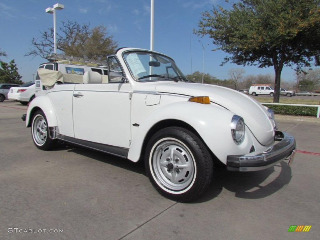 White 1979 Volkswagen Beetle Convertible Exterior Photo #61779119