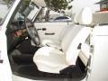White 1979 Volkswagen Beetle Convertible Interior Color