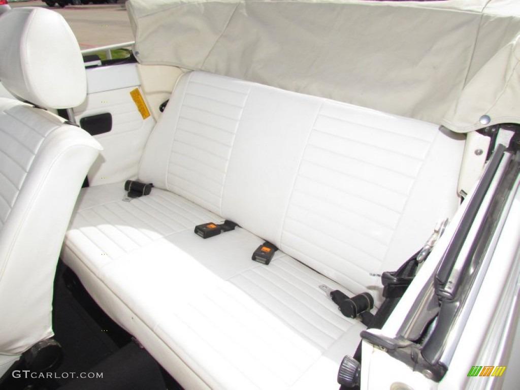 1979 Volkswagen Beetle Convertible Rear Seat Photo #61779161