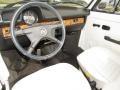1979 Volkswagen Beetle White Interior Interior Photo