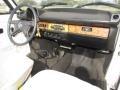 1979 Volkswagen Beetle White Interior Dashboard Photo