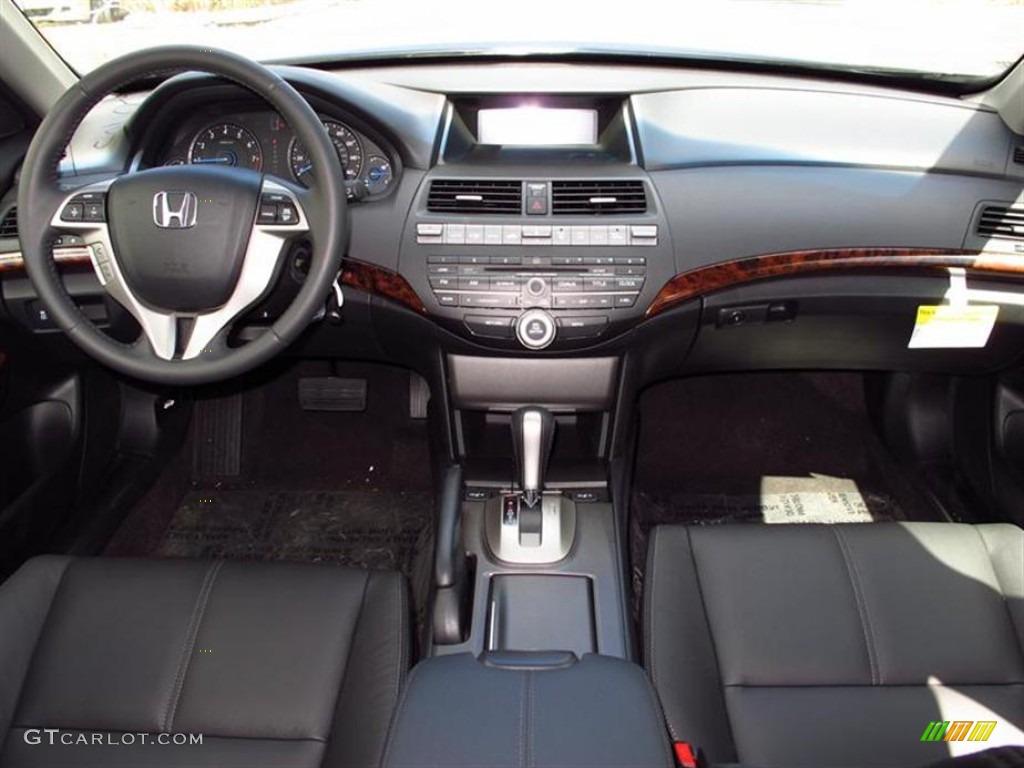 2012 Honda Accord Crosstour Ex L Black Dashboard Photo