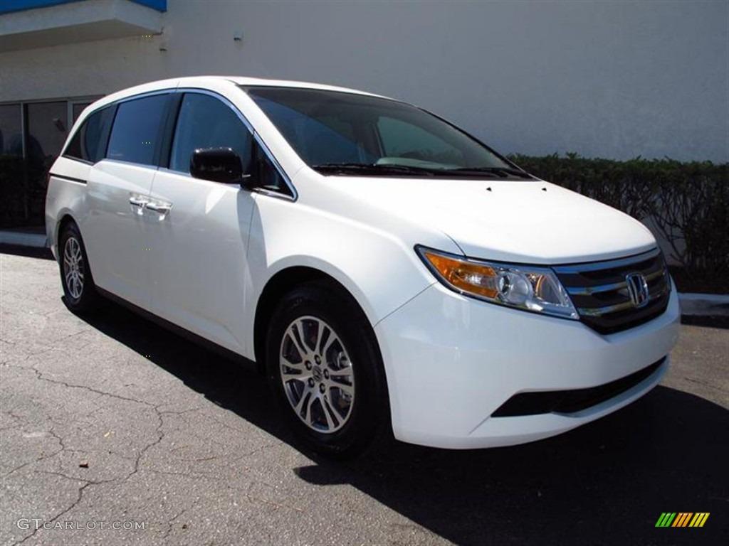 2012 Taffeta White Honda Odyssey Ex L 61761041 Car Color Galleries