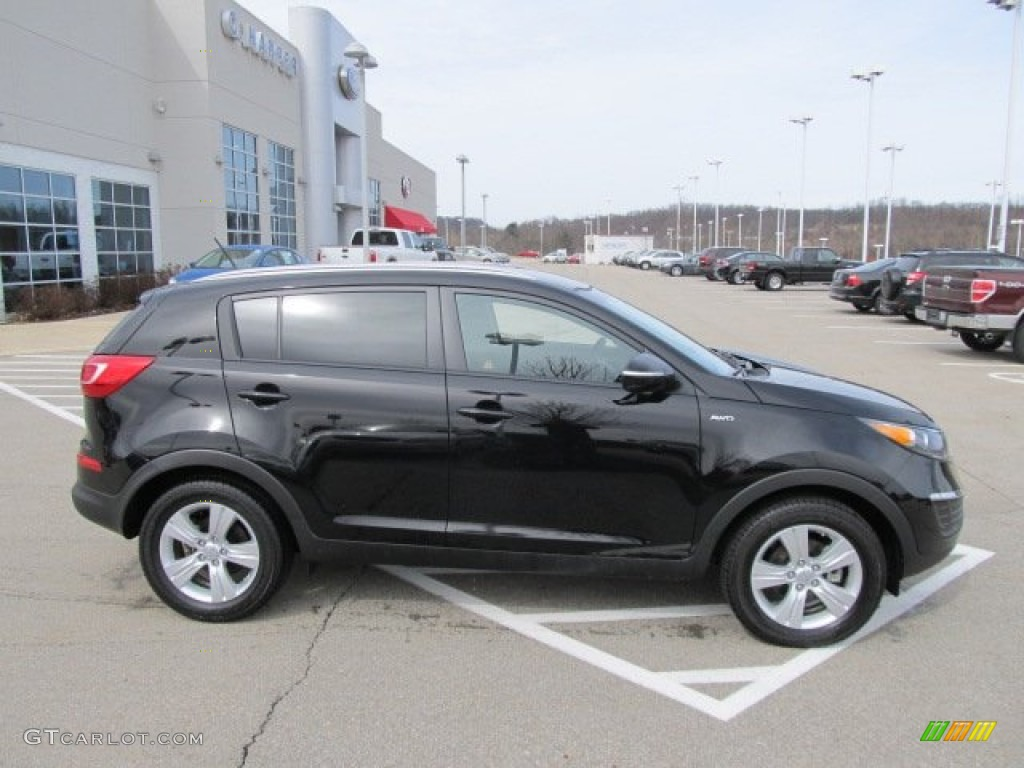black cherry 2012 kia sportage lx awd exterior photo 61797440. Black Bedroom Furniture Sets. Home Design Ideas