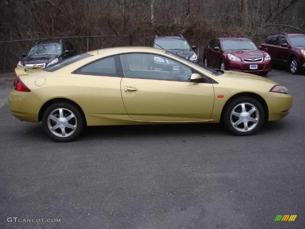 Light citrus gold metallic 2000 mercury cougar v6 exterior photo 61798859