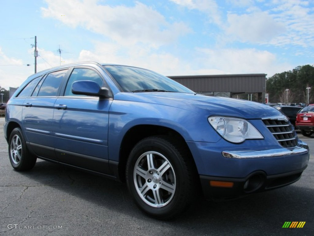 2007 marine blue pearl chrysler pacifica touring 61761452 car color galleries. Black Bedroom Furniture Sets. Home Design Ideas
