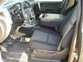 2012 Mocha Steel Metallic Chevrolet Silverado 1500 LT Regular Cab 4x4  photo #3
