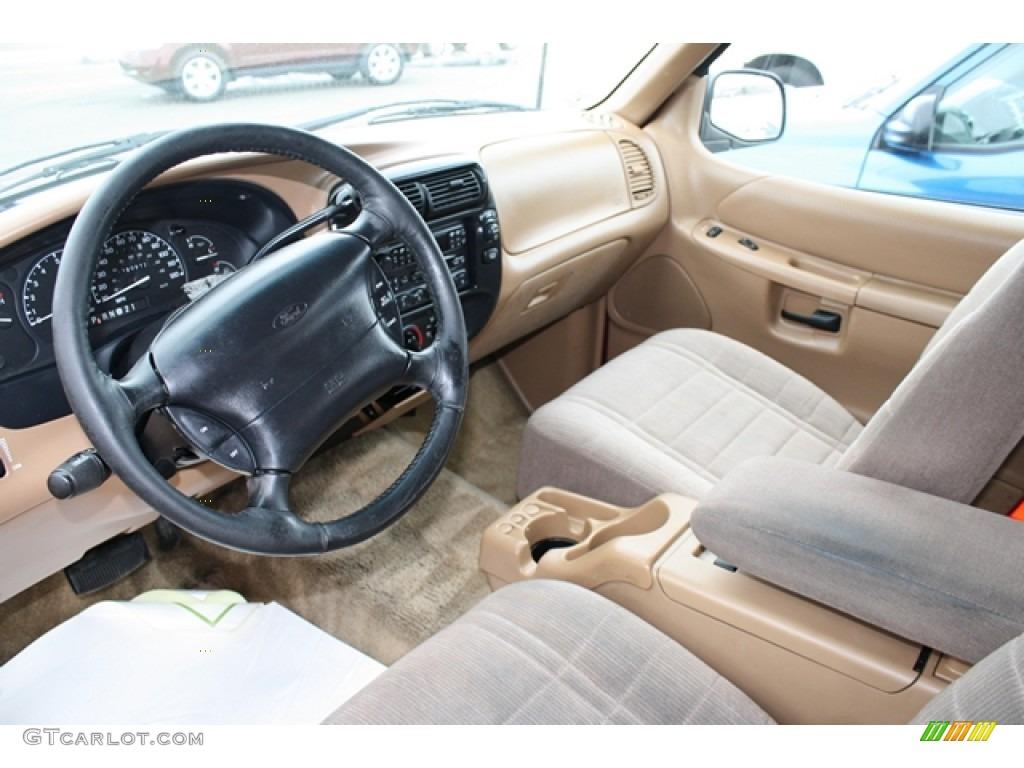 Beige Interior 1996 Ford Explorer Sport 4x4 Photo #61801421 | GTCarLot ...