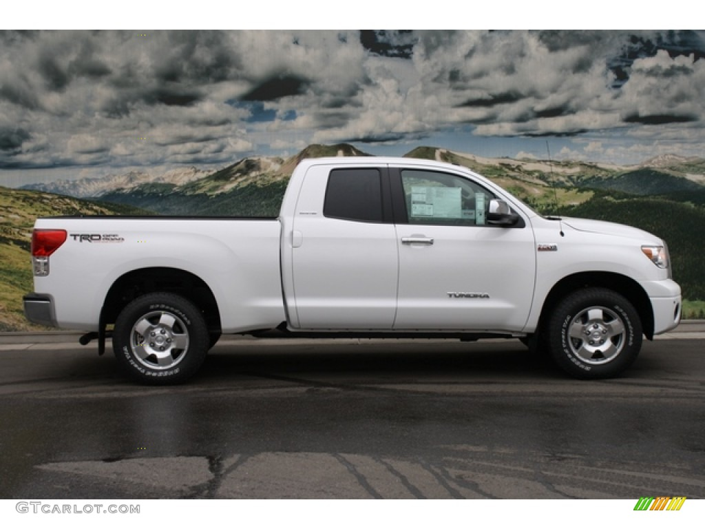 super white 2012 toyota tundra limited double cab 4x4 exterior photo 61802090. Black Bedroom Furniture Sets. Home Design Ideas