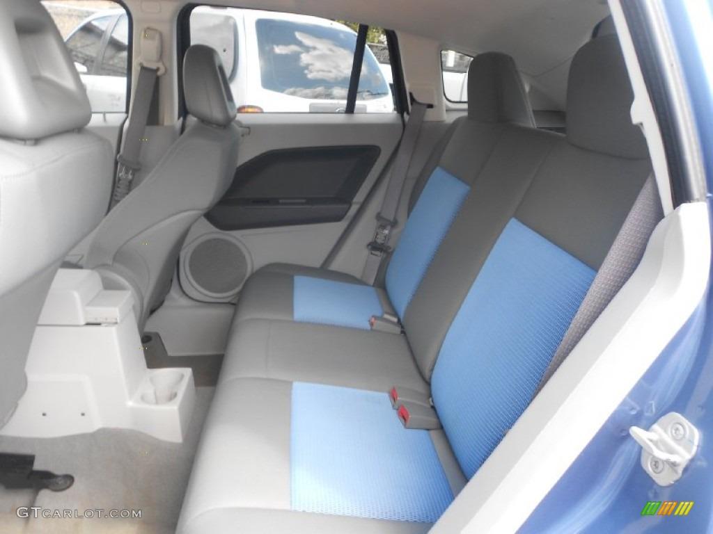 Pastel Slate Gray Blue Interior 2007 Dodge Caliber Sxt Photo 61818638