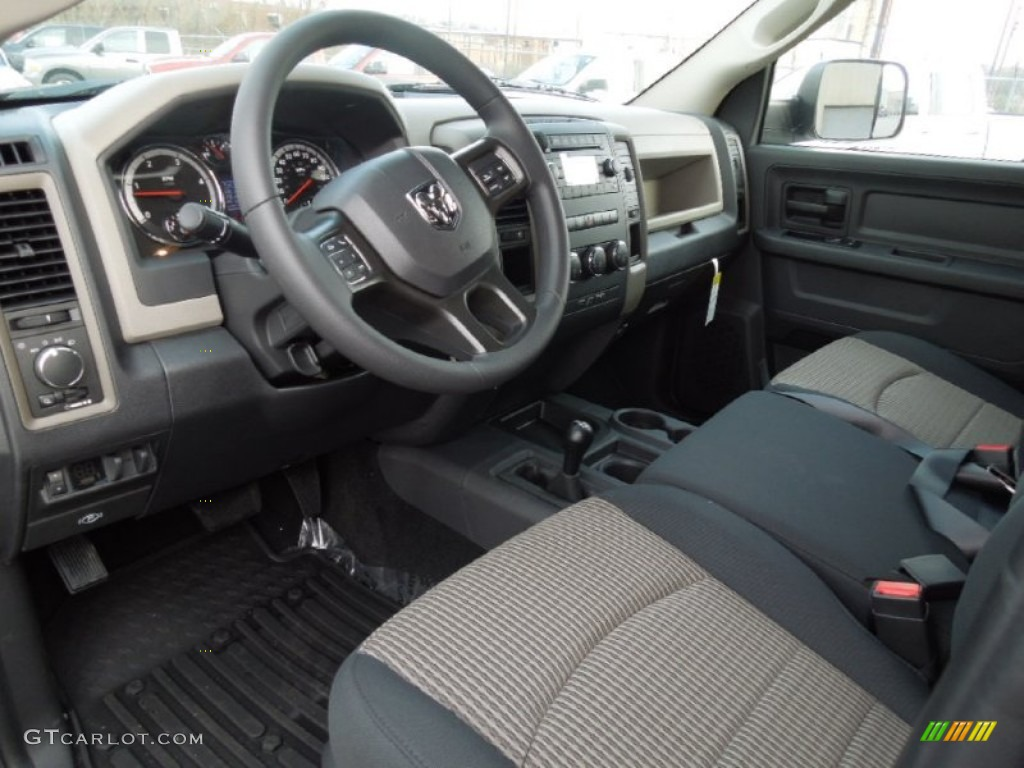 dark slate medium graystone interior 2012 dodge ram 2500 hd st crew cab 4x4 photo 61820579