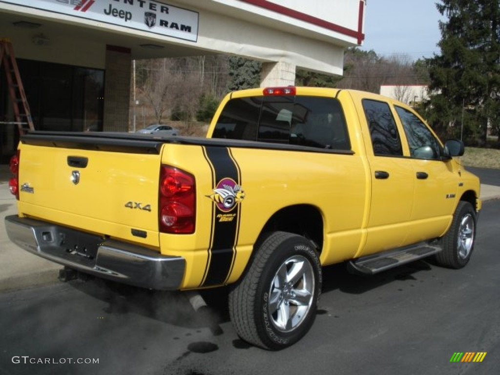 2008 detonator yellow dodge ram 1500 big horn edition quad cab 4x4 61761265 photo 8 gtcarlot. Black Bedroom Furniture Sets. Home Design Ideas