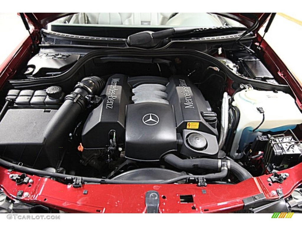 2001 mercedes benz clk 320 cabriolet 3 2 liter sohc 18 for Mercedes benz 3 2 v6 engine