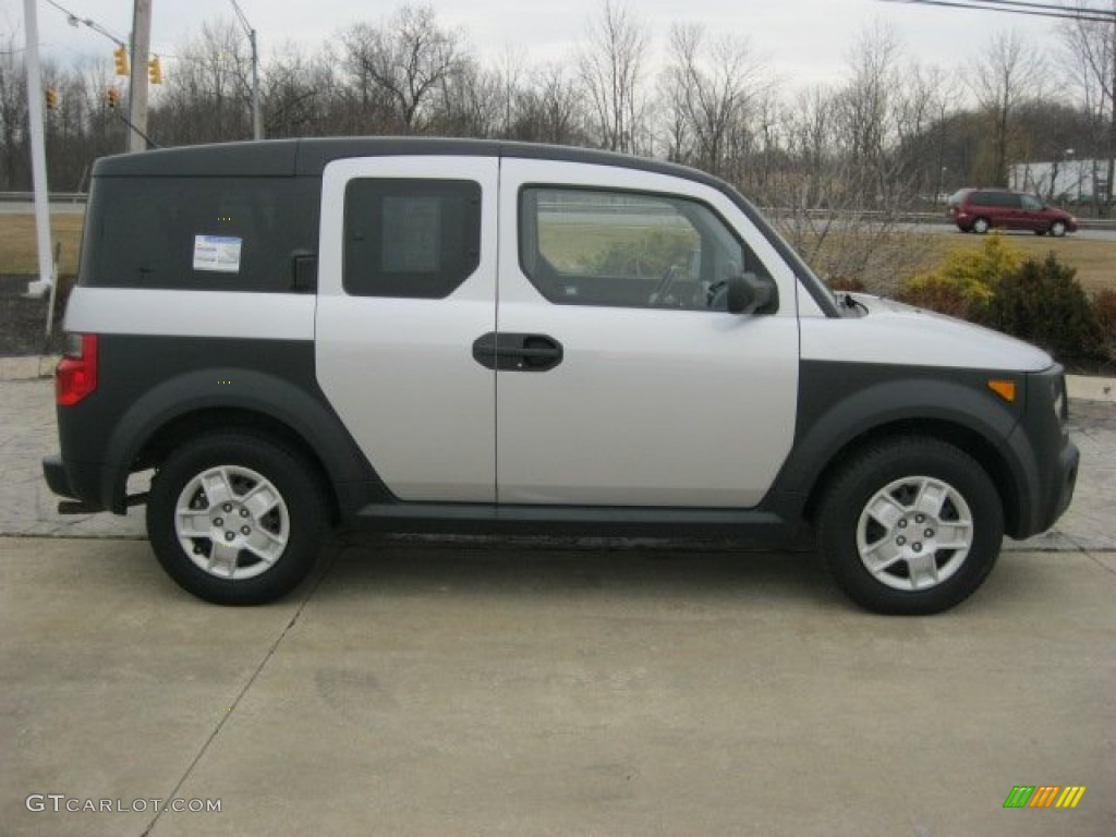 alabaster silver metallic 2007 honda element lx exterior. Black Bedroom Furniture Sets. Home Design Ideas