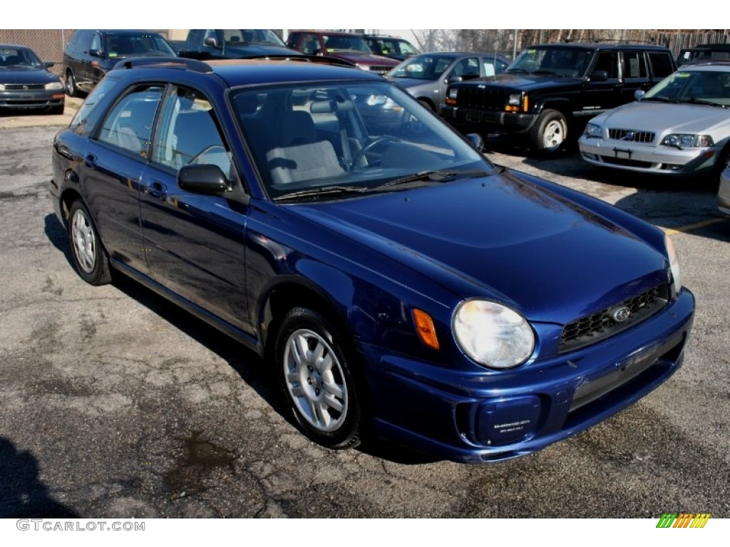 2002 Blue Ridge Pearl Subaru Impreza Ts Wagon 61833485