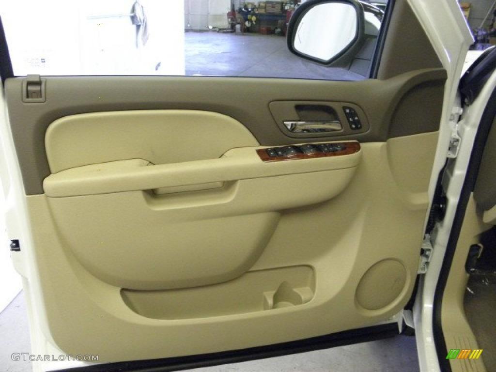 2012 Silverado 1500 LTZ Crew Cab 4x4 - White Diamond Tricoat / Light Cashmere/Dark Cashmere photo #16