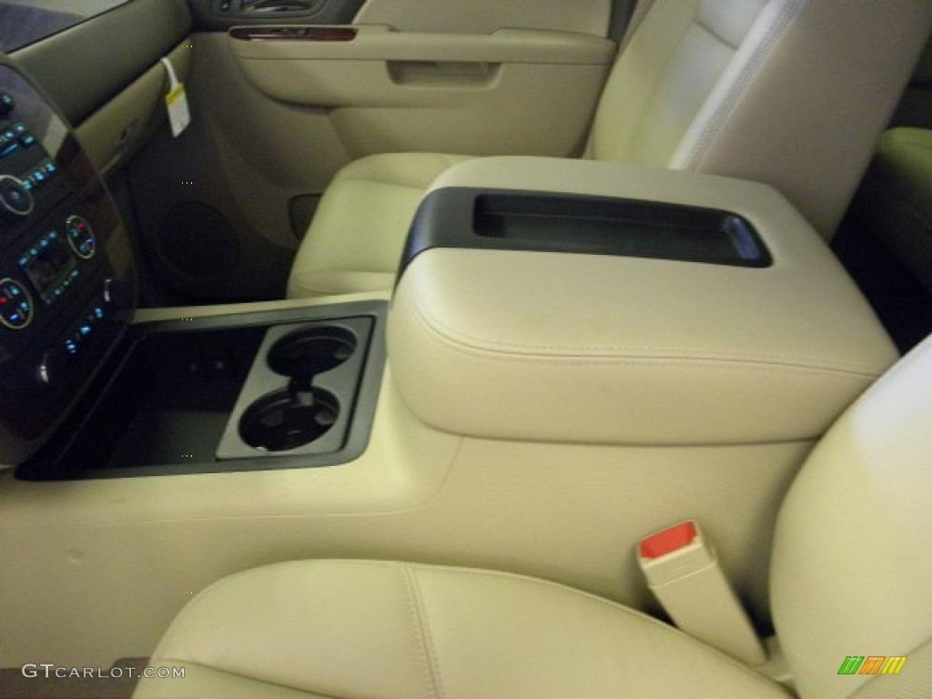 2012 Silverado 1500 LTZ Crew Cab 4x4 - White Diamond Tricoat / Light Cashmere/Dark Cashmere photo #27