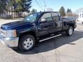 2012 Imperial Blue Metallic Chevrolet Silverado 1500 LT Extended Cab 4x4  photo #16