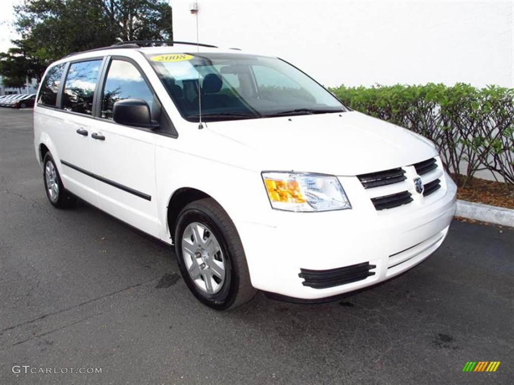 Stone white 2008 dodge grand caravan se exterior photo 61846176