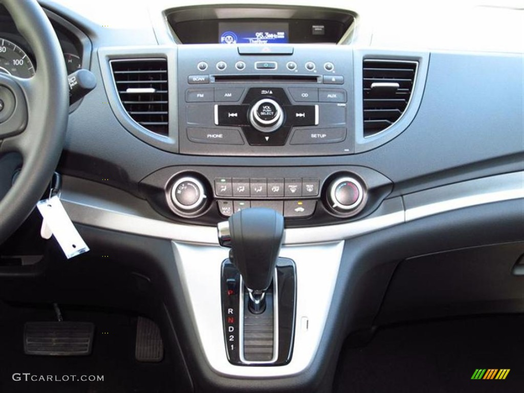 2012 CR-V EX 4WD - Alabaster Silver Metallic / Black photo #6